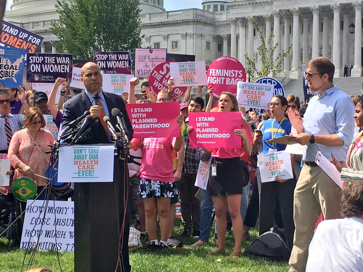 "test Twitter Media - .@CoryBooker ""The power of our people is greater than that of the people in power"" At #ProtectOurCare rally #NLIRHNAS17 https://t.co/V995PoIra0"