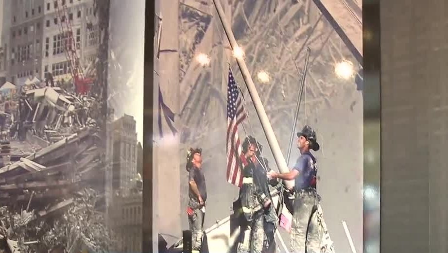 Mobile 9/11 memorial exhibit visits Salem
