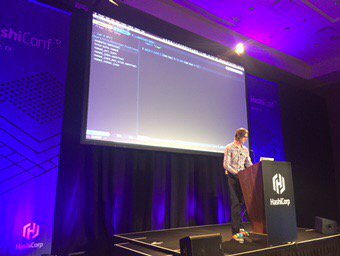 Sentinel live coding with @sheriffjackson #hashiconf https://t.co/gdhz1pC0Pn