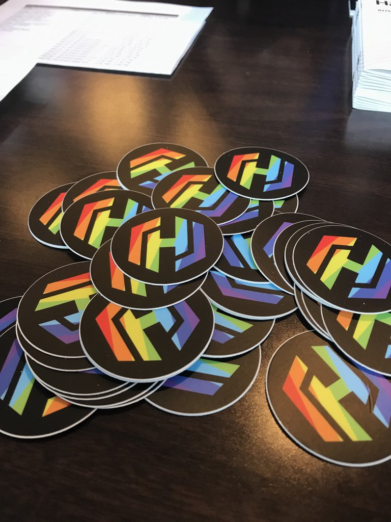 We have rainbow @HashiCorp stickers at the #HashiConf registration booth while supplies last! https://t.co/pggxKBON0L