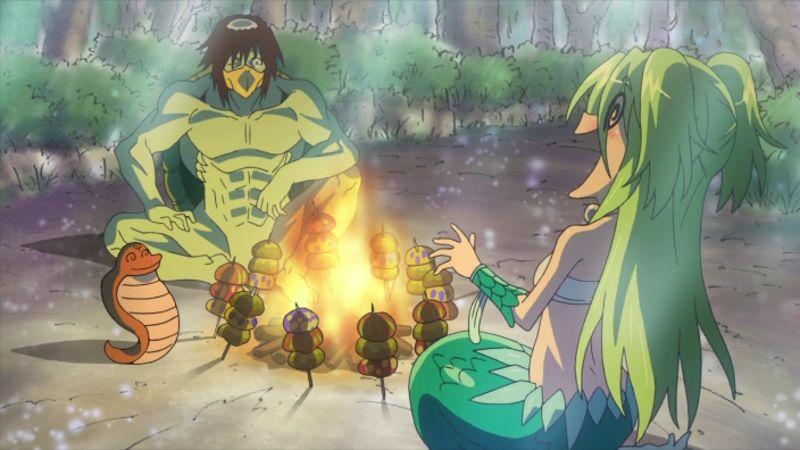 ………盗賊の頭スライが浜田賢二氏、ミルカ姫が田村ゆかりさん。『波打際のむろみさん』のむろみさんと川端くんですね。 #魔法
