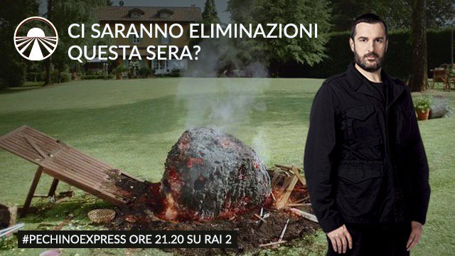 Mi colpisse un asteroide se questa sera… #pechinoexpress #Rai2 @CdGherardesca https://t.co/uV6ymlG6QM
