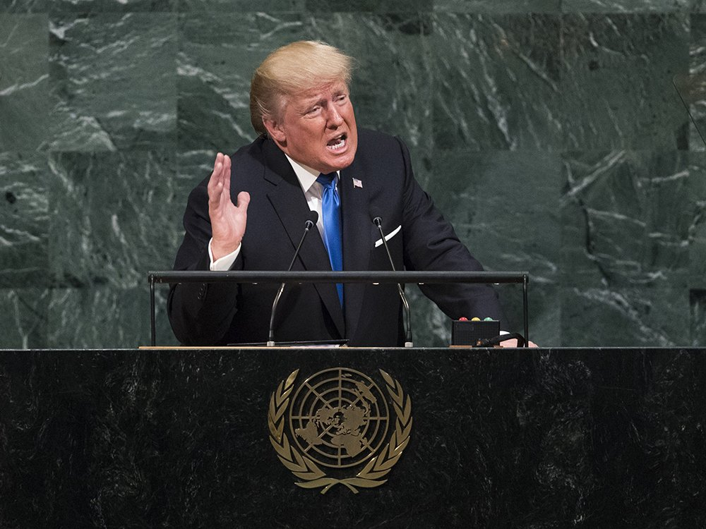 Full text and video of Donald Trump's debut speech to the UN