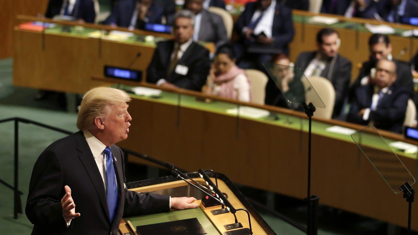 Our reporters are annotating Trump's U.N. speech. See their notes and add your own here: https://t.co/SVMg2bK9cW https://t.co/Pzi3egcMhx