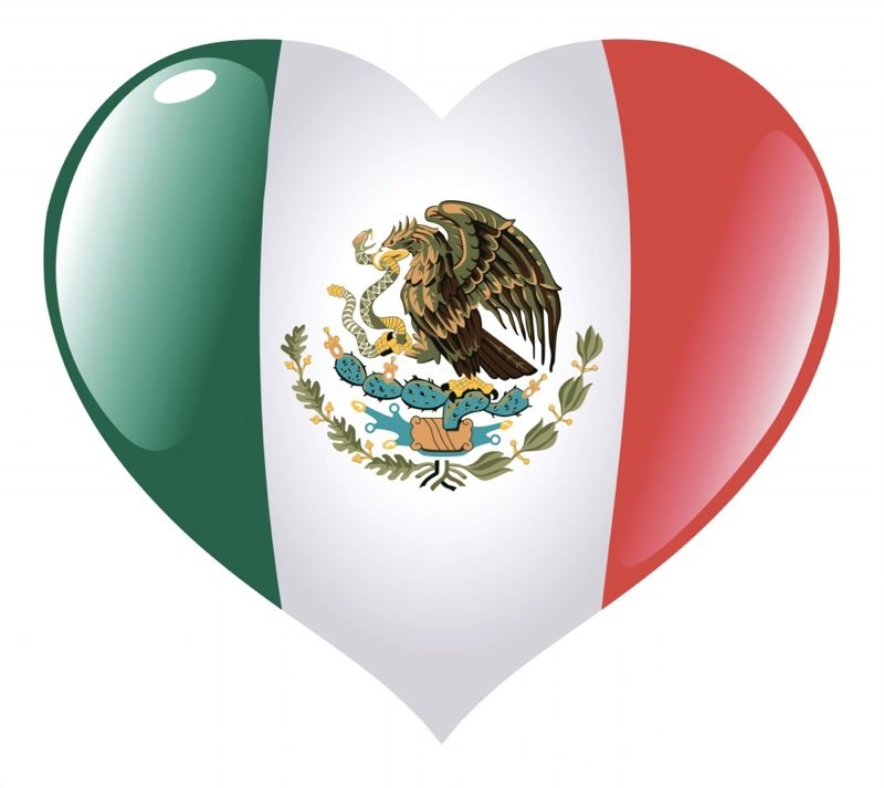 Sending my love to Mexico ❤️����#PrayForMexico #FuerzaMexico https://t.co/m0oYhRj4pp