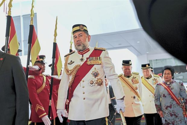 King attends Trooping the Colour ceremony - Nation