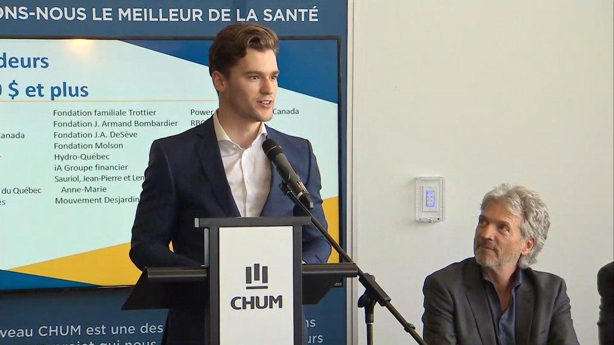 DERNIÈRE HEURE | Jonathan Drouin fait un don de 500 000 $ à la fondati...
