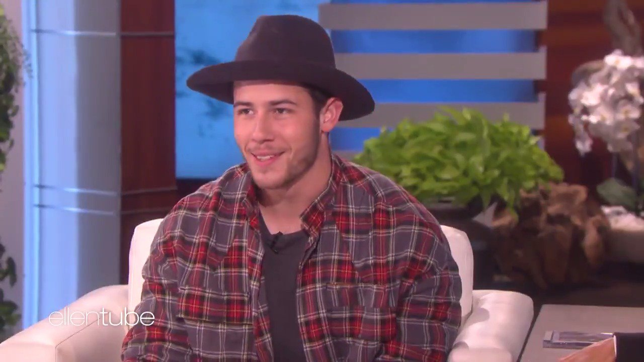 .@NickJonas is learning a new language. The language of love. https://t.co/BKsaIOWRjP