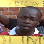 Iganga Age Limit Demonstration, Police Teargases Protesters