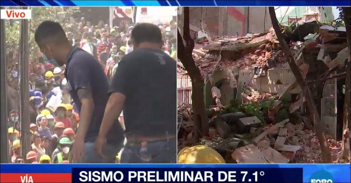 Secretario de Gobernación pide salir de edificios tras #sismo para realizar revisiones  https://t.co/WKmNxyLA90 https://t.co/zb6ayHTyBL
