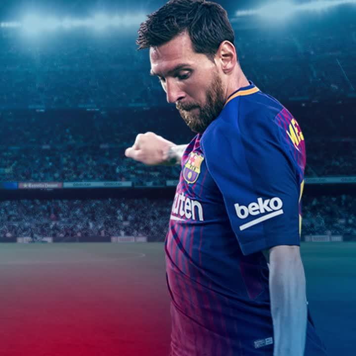 ⚽️ GOOOAAAALLLL! Messi puts Barça ahead from the spot! #FCBlive #BarçaEibar https://t.co/veMYaJkpCt