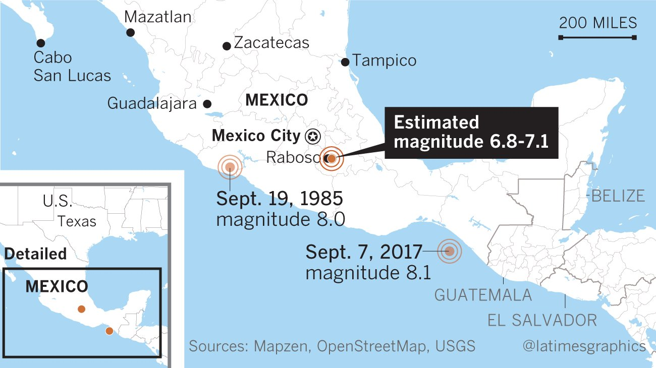 UPDATE: Dozens killed as powerful 7.1 earthquake strikes central Mexico https://t.co/iEe5oXtw8Q https://t.co/rtcoxFeVe7