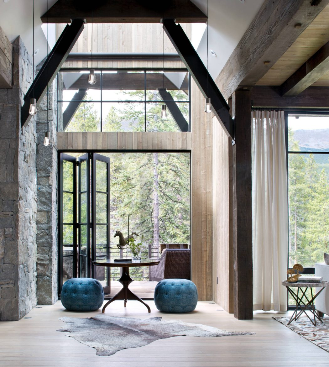 Mountain Chalet by Andrea Schumacher Interiors - https://t.co/vLcmgvcb4X https://t.co/MZ9SMjjO6P