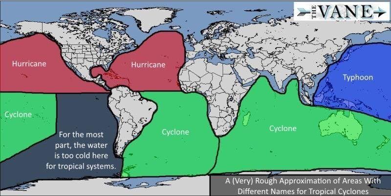 #infografia  Qué diferencia hay entre un #Huracán, un #Tifón y un #Ciclón? https://t.co/0VKWx4r4Cu