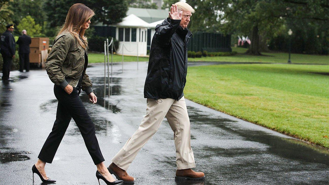 .@ManoloBlahnik defends Melania Trump's stilettos from visit to Houston: https://t.co/tEL2GN1KiL https://t.co/j1KBgbUpjg