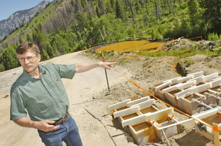 Judge: Mining company in contempt for Idaho water pollution