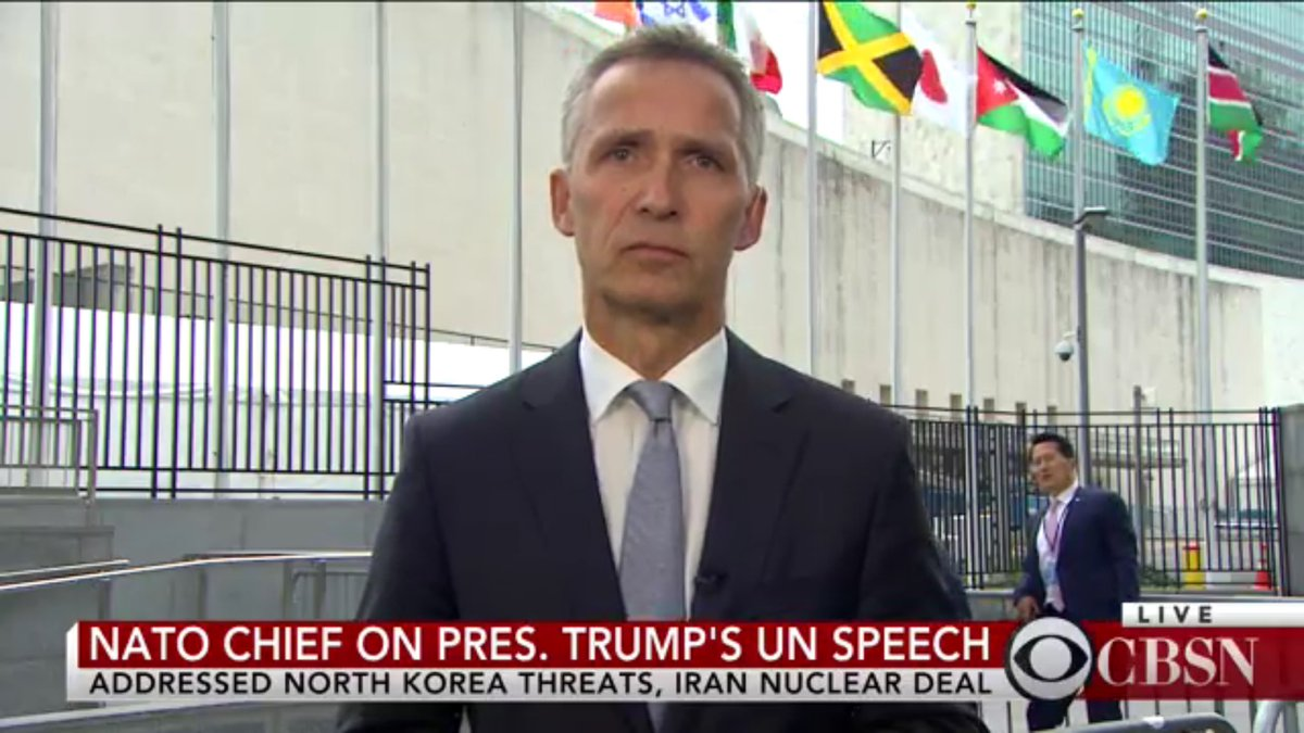 "test Twitter Media - #UNGA IMPIntvw @NATO @jensstoltenberg World needs2 ""find something in between doing nothing"" & using military force  https://t.co/QSFOr8mzAY https://t.co/eCk0DtM9Zx"