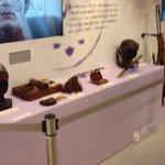 NHKスタジオパークのVR展示コーナー、『精霊の守り人 最終章』の衣装展示の横に小道具が新たに展示されてた。