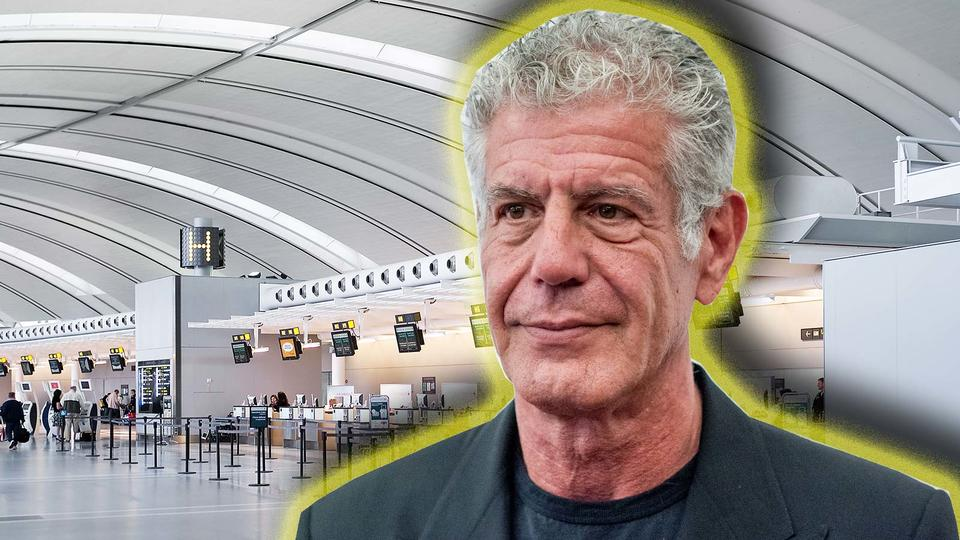Anthony Bourdain reveals the most annoying thing you can do at the airport