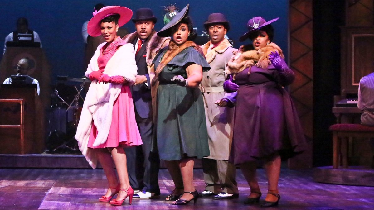 Fats Waller says he 'Ain't Misbehavin',' but the party's going strong at La Mirada Theatre