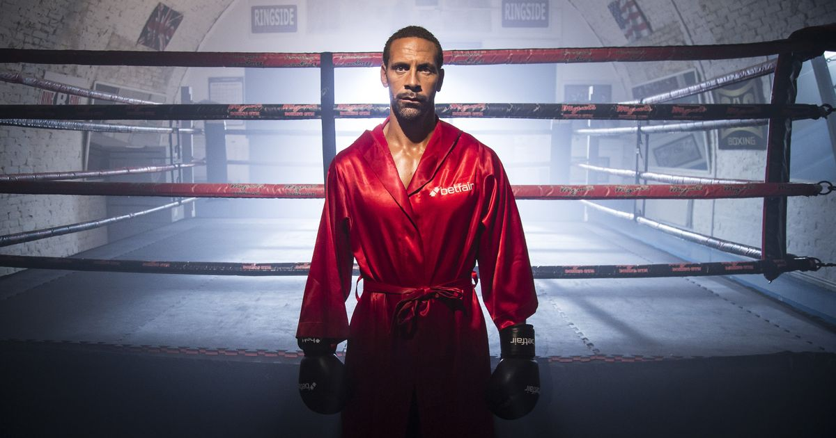 Manchester United hero Rio Ferdinand willing to learn pro boxing the hard way — getting thumped by Anthony Joshua