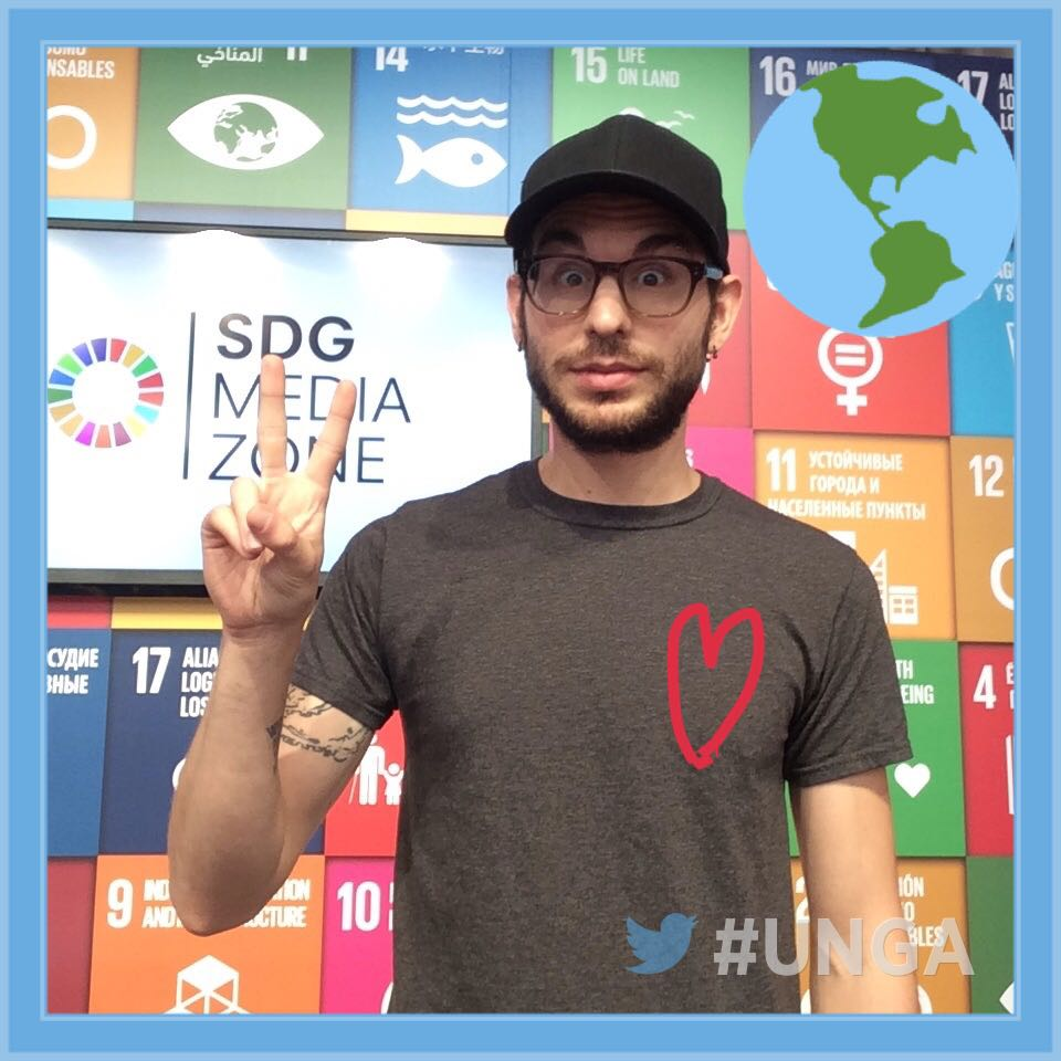 #SDGLive Zone welcomed @jakerawrs to discuss climate action at the #UNGA. See more: https://t.co/SxiIRo2V1l https://t.co/UcUMKjke7z
