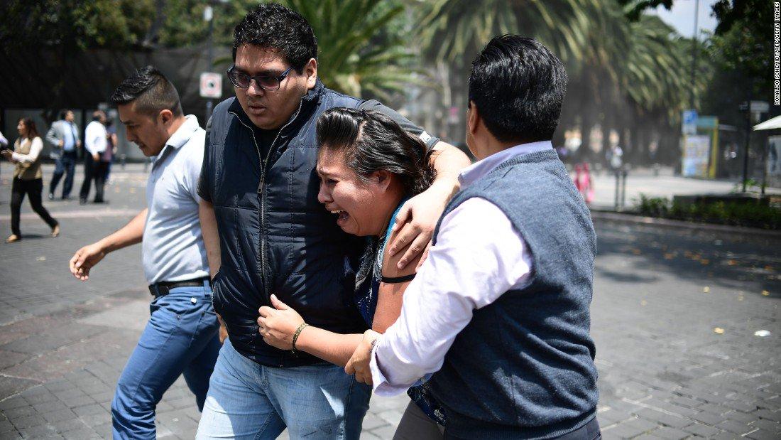 Photos show a magnitude-7.1 earthquake's destruction in central Mexico https://t.co/2MnQogvOvb https://t.co/YHxKdnalRx