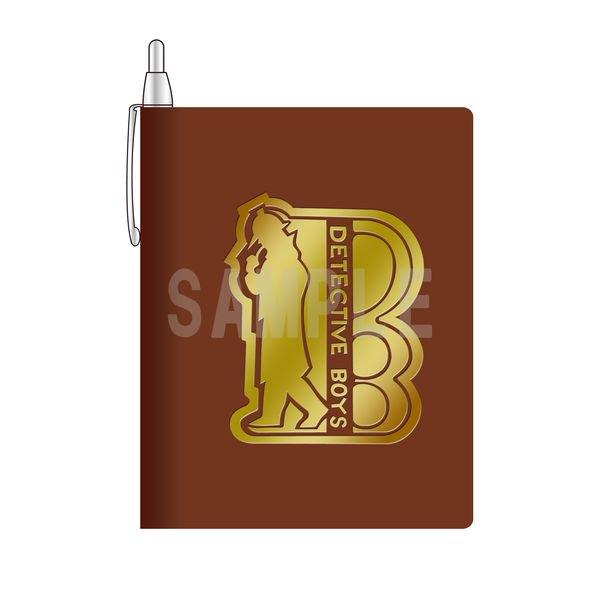 ★キャラアニ新商品★ 「名探偵コナン」少年探偵団手帳メモ(シャープペン付き)  少年探偵団が使用している手帳をイメージし