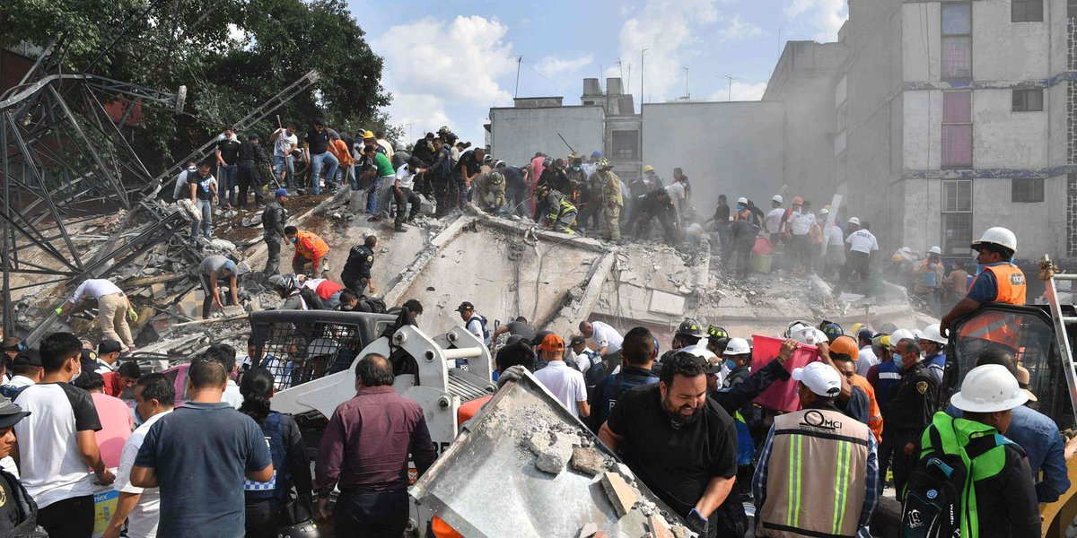 Celebrities, world leaders react to massive Mexico City earthquake