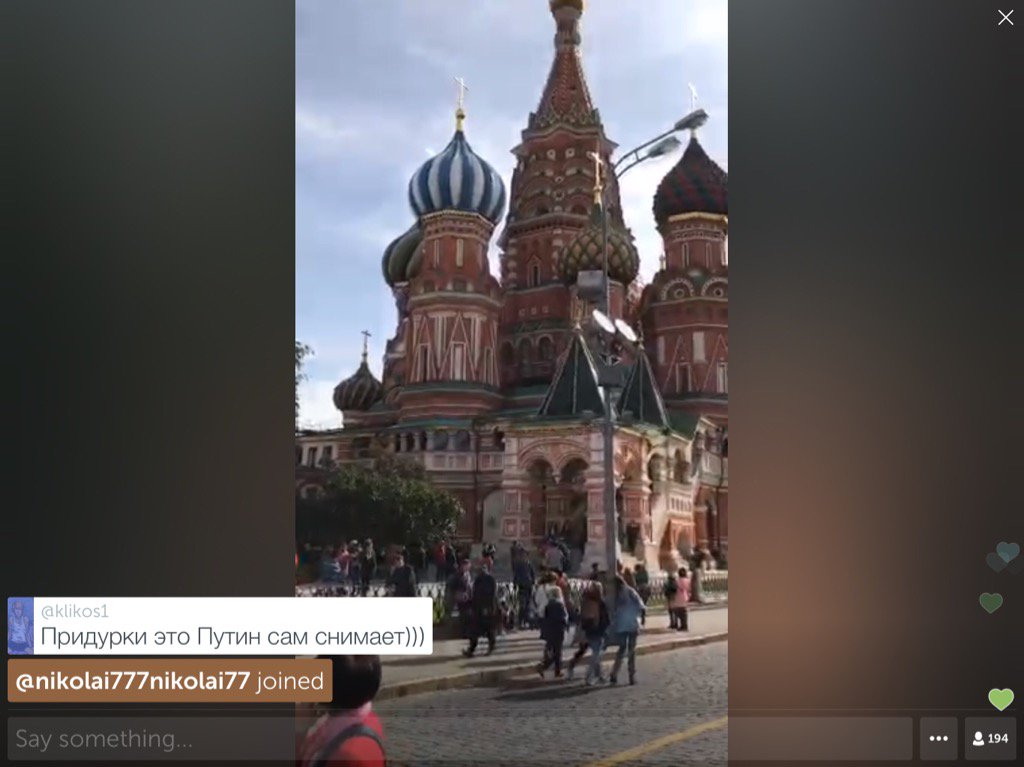 .@dimsmirnov175 on #Periscope: #RedSquare #Moscow right now https://t.co/3pz7BEKzrv ht ...