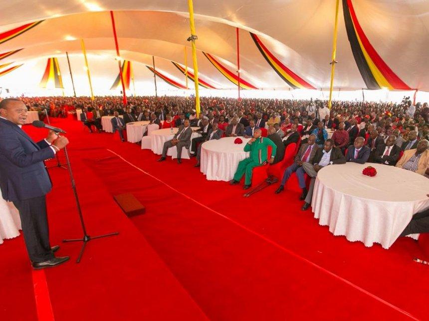 Fresh duel with Raila must be within 60 days, Uhuru tells Narok delegation