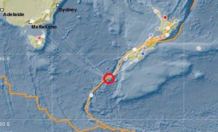 Un terremoto de magnitud 6.1 sacudió las aguas del sur de Nueva Zelanda https://t.co/SlZpp1GzIt https://t.co/WRK6ZCscV7