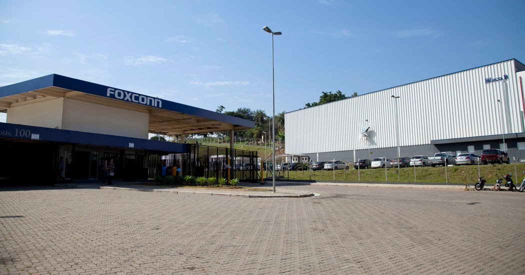 Before Wisconsin, Foxconn Vowed Big Spending in Brazil. Few Jobs Have Come