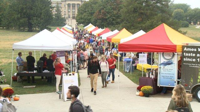 Iowa State University Food Festival Brings Farmers' Market OntoCampus