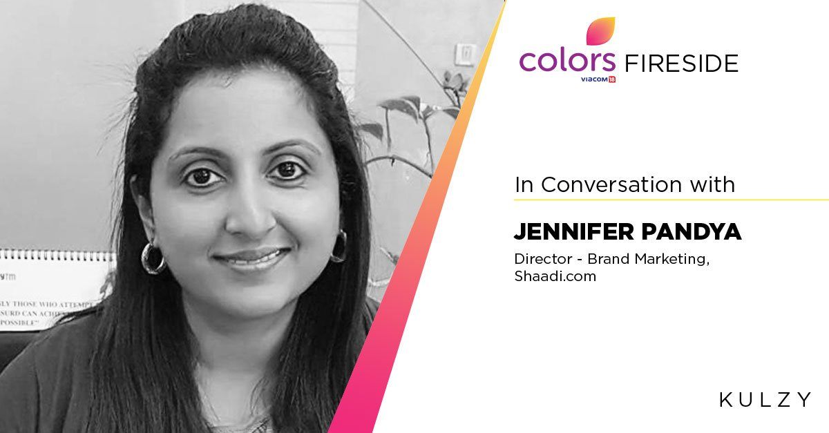 test Twitter Media - In Conversation with @jenny1481 ,Director - Brand Marketing, @ShaadiDotCom for #ColorsFireside https://t.co/Lkq3DRTg4u  @ColorsTV https://t.co/MQ5CxIFHYC