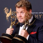 James Corden jokes about controversial photo of him kissing Sean Spicer at Emmys