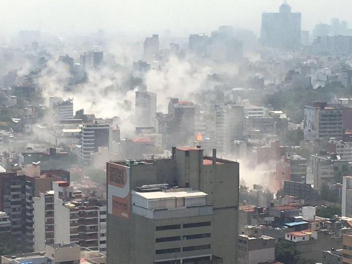#PrayForMexico