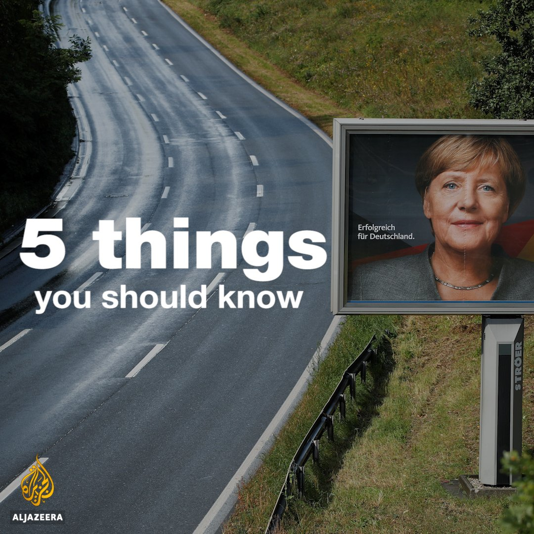 Chancellor Merkel is expected to win a 4th term as Germans head to the...