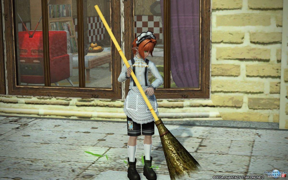 雑巾掛けで遊ぶつもりが少年メイドの撮影になってた(´・ω`・)家事掃除洗濯何でもござれ(自給1m)