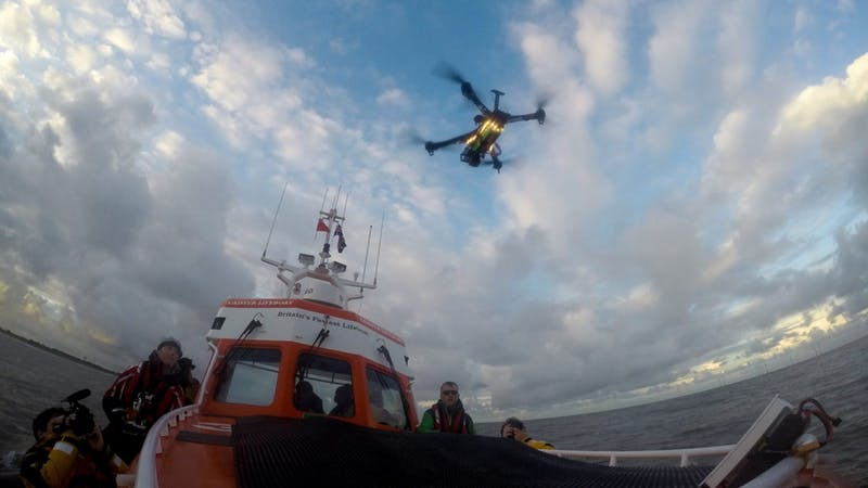 VIDEO: Lifeboat crew trial drones on search and rescue operations in world first https://t.co/nakPiqAGfJ https://t.co/DK9hfsar7l