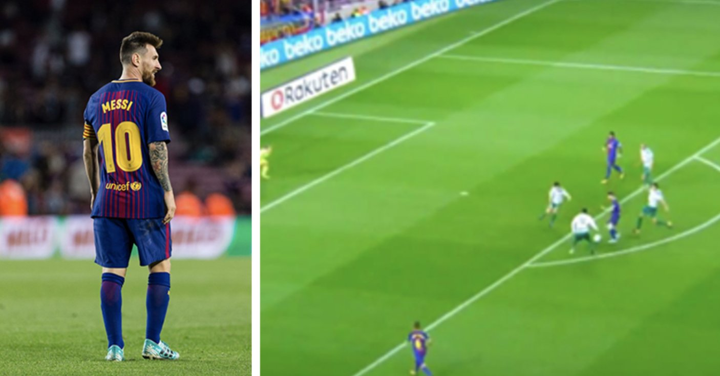 WATCH: Lionel Messi's individual highlights against Eibar last night are a joy to watch! ���� https://t.co/ewWrt6WOca https://t.co/JG60YJOu0Q