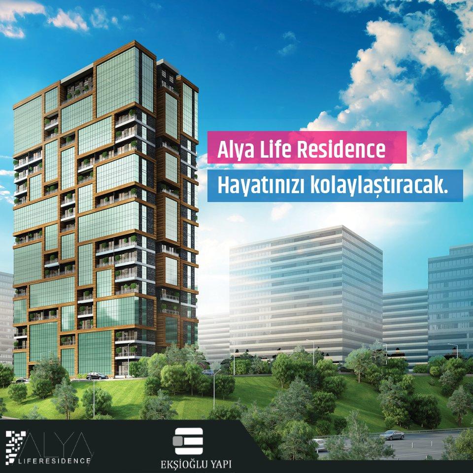Alya Life Residence hayatınızı kolaylaştıracak. https://t.co/UcqXQvMmJR 444 90 98 https://t.co/HrDBN093qk