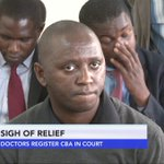 Doctors register CBA in court