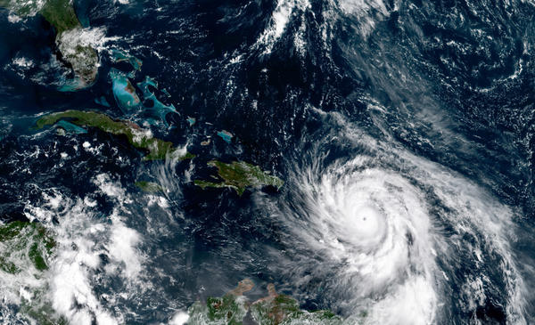 Hurricane Maria makes landfall on Puerto Rico after slamming Dominica
