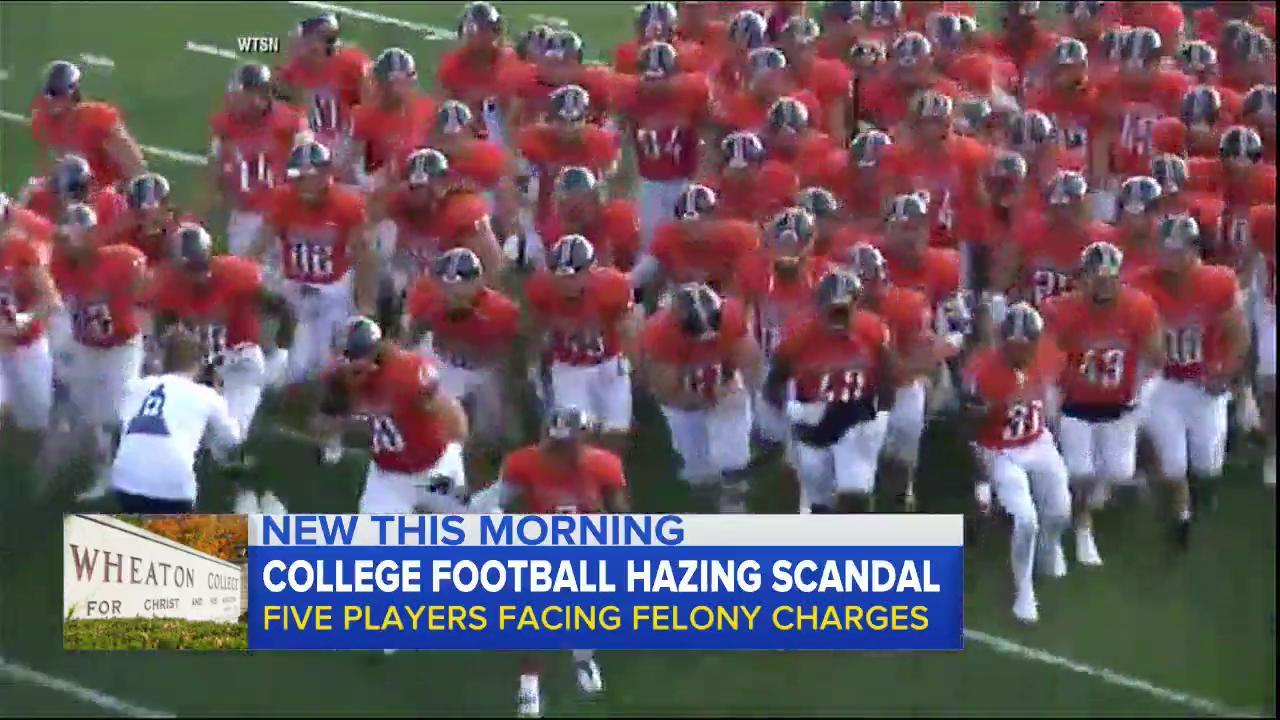 WATCH: College football hazing scandal; five players facing felony charges: https://t.co/Bdx4wlbwEJ https://t.co/ycfOjGHxAz
