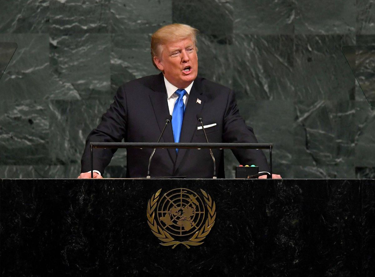 Trump stokes global tensions with threats against North Korea in UN speech