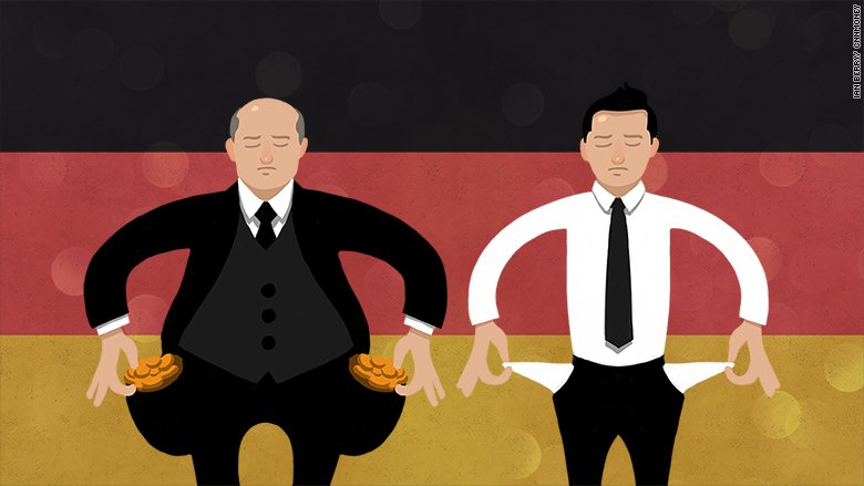 Rich Germany has an inequality problem. These numbers prove it