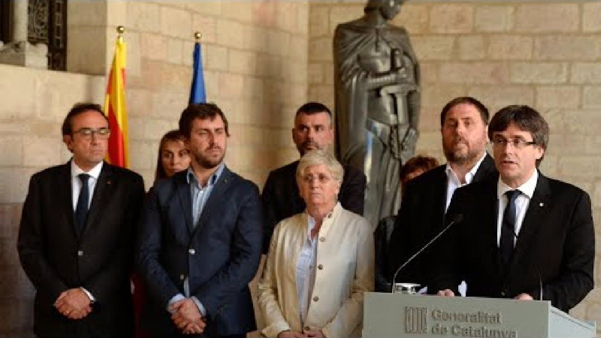 ?? Spain: Catalan leader accuses Government of imposing 'de facto' state of emergency