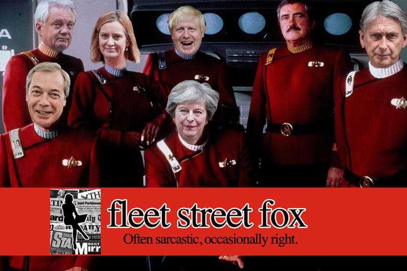 'If Star Trek did Brexit it would make a lot more sense.' says @fleetstreetfox https://t.co/xMAL1TUIPs https://t.co/GAYXsLW796
