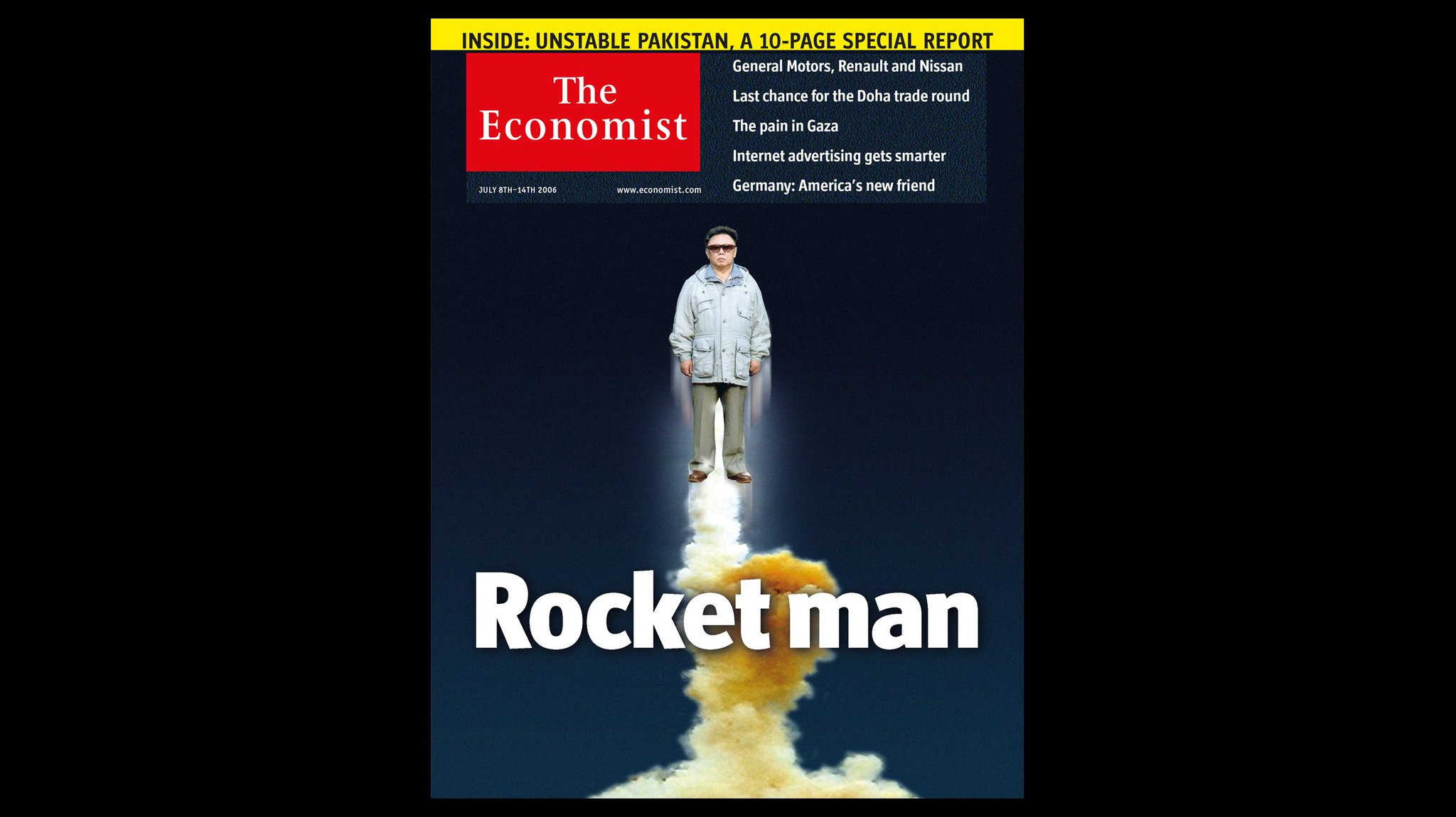 From the archive | Rocket Man Kim https://t.co/COU4zQUkU7 https://t.co/OwfoDNiLAL